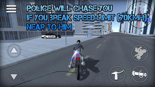 Wheelie Rider 3D - Traffic rider wheelies rider 1.0 screenshots 5