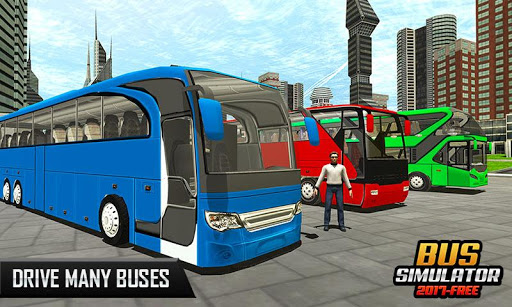 Bus Simulator 2018-Free Game 1.1.4 screenshots 1