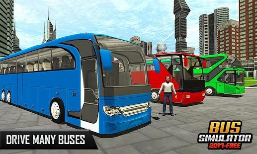 Bus Simulator 2017-Free Game - náhled