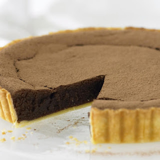 Chocolate Almond Tart.
