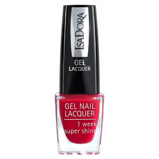 IsaDora  Gel Nail Lacquer  Viva Red 6 ml