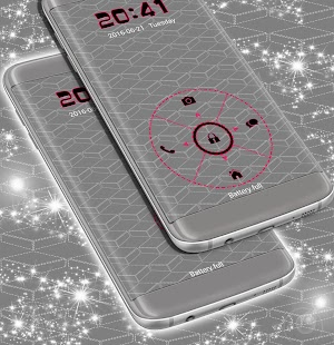 Locker Mobile téma - náhled