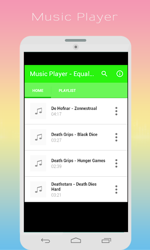Music Player - Equalizer