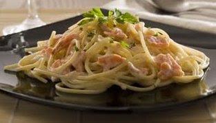 Photo: Bavettine al salmone affumicato, panna e vodka