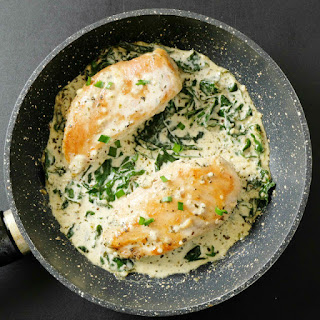 Creamy Kale Chicken.