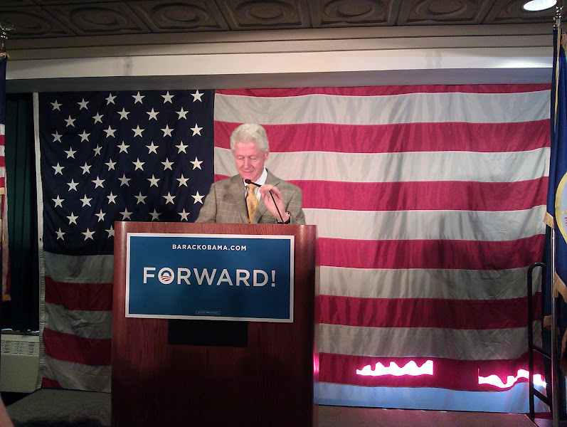 Photo: President Bill Clinton!