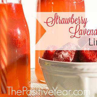 Strawberry Lavender Limeade Recipe