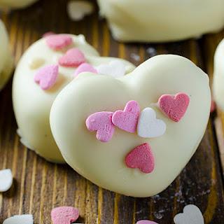 Oreo Truffles Valentine's Hearts.