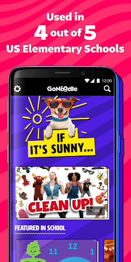 Télécharger GoNoodle - Kids Videos mod apk screenshots 4