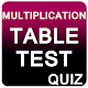 Multiplication Table Test (Quiz) Download on Windows