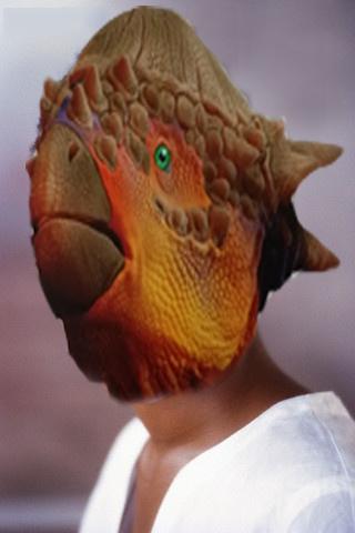 공룡 얼굴