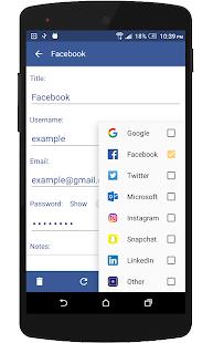 Password E-Safe - náhled