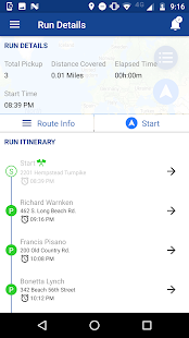 RouteMind - náhled