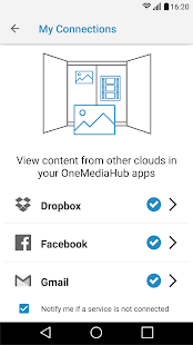 OneMediaHub- screenshot thumbnail