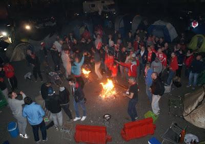 La folie au Bosuil: tous les fans anversois veulent un ticket pour Eupen
