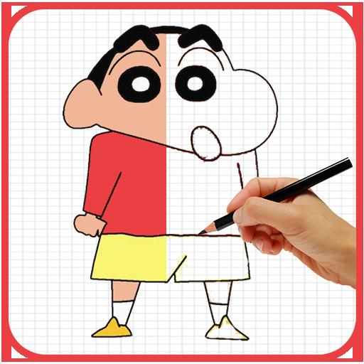 How To Draw Shin Chan