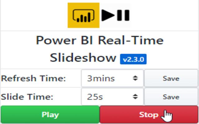 Power BI Real-Time Slideshow