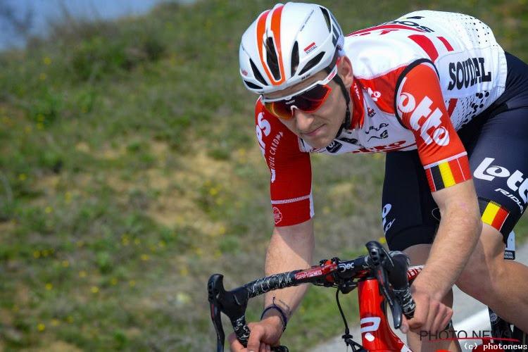 Ook Lotto Soudal nog maar met vier renners na opgave van landgenoot in de Giro