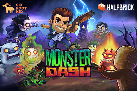 Monster Dash: miniatura de captura de pantalla