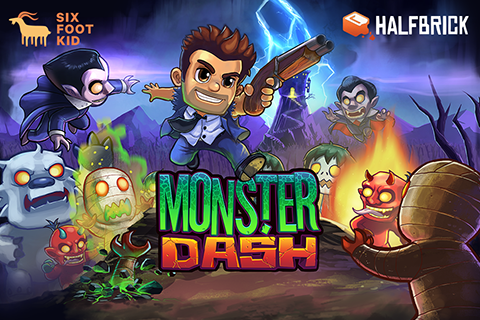 Monster Dash – zrzut ekranu
