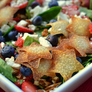Red White & Blue Patriotic Salad