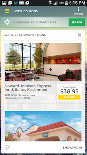 HotelCoupons.com Travel App- screenshot thumbnail