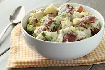 Red Hot & Blue Potato Salad - the Original