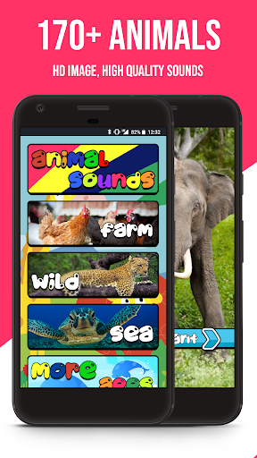 165+ Animal Sounds 1.0.31.0.3 screenshots 1