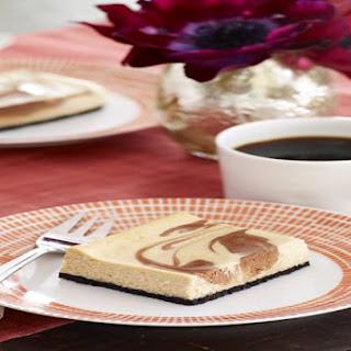 Philadelphia Chocolate-Vanilla Swirl Cheesecake.
