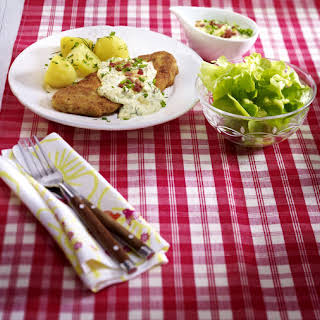 Veal Cutlets with Sour Cream.