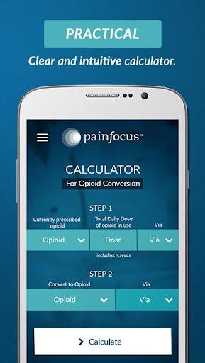 PainFocusu2122 Opioid Calculator 1.6.0 screenshots 1