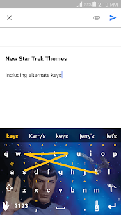 Swype Keyboard Trial- screenshot thumbnail