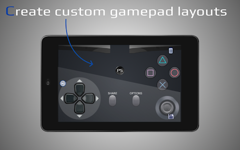 ShockPad: Virtual PS4 Remote Play Dualshock 8