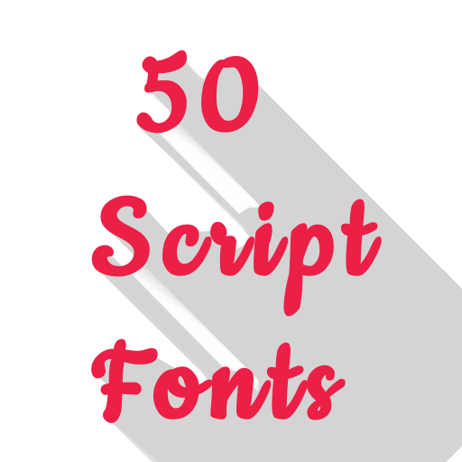 50 Script Fonts - Apps on Google Play