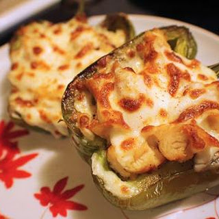 Philly Chicken Stuffed Peppers