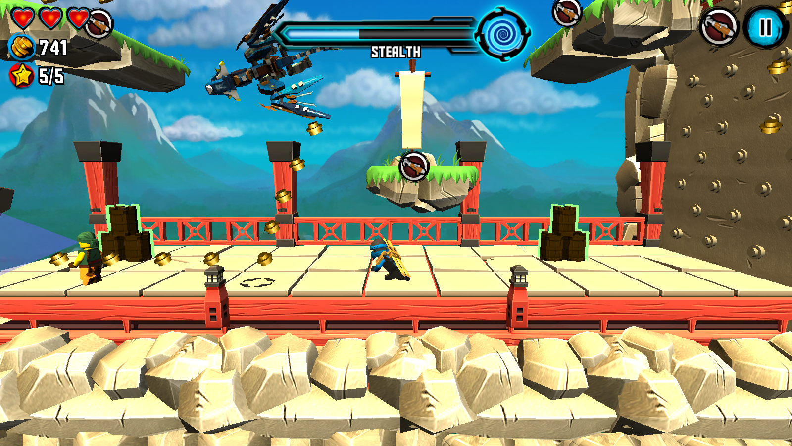 LEGO® Ninjago: Skybound- screenshot