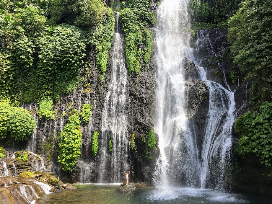 Banyuwala waterfall, one of the best waterfalls in Bali