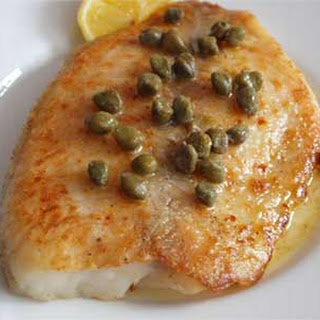 Fried Tilapia with Lemon-Caper Pan Sauce