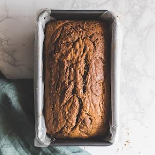 Chocolate Hazelnut Marbled Banana Bread Recipe