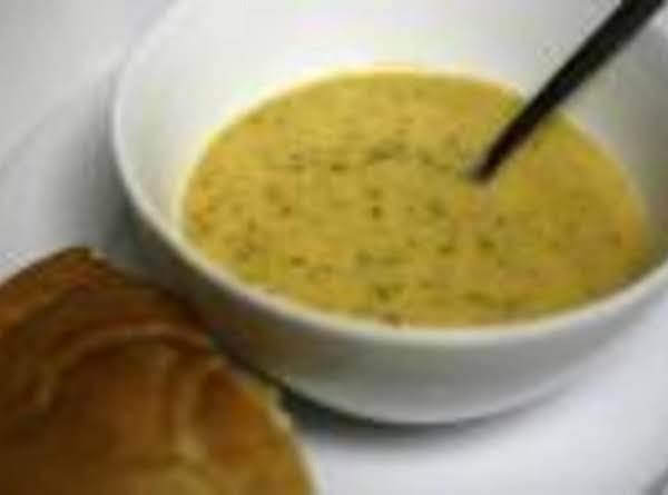 Quick And Easy Cheese/broccoli Soup