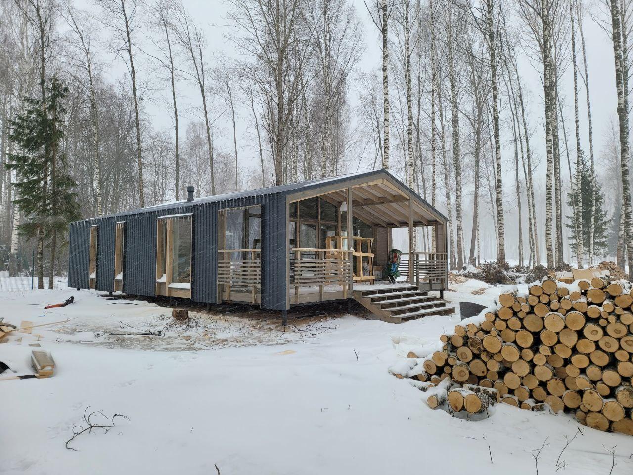 Модульный дома Heim project