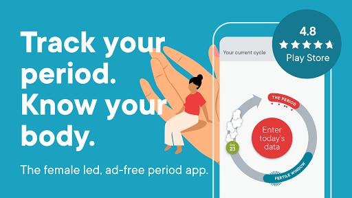 Clue Period Tracker, Ovulation & Cycle Calendar screenshot 1