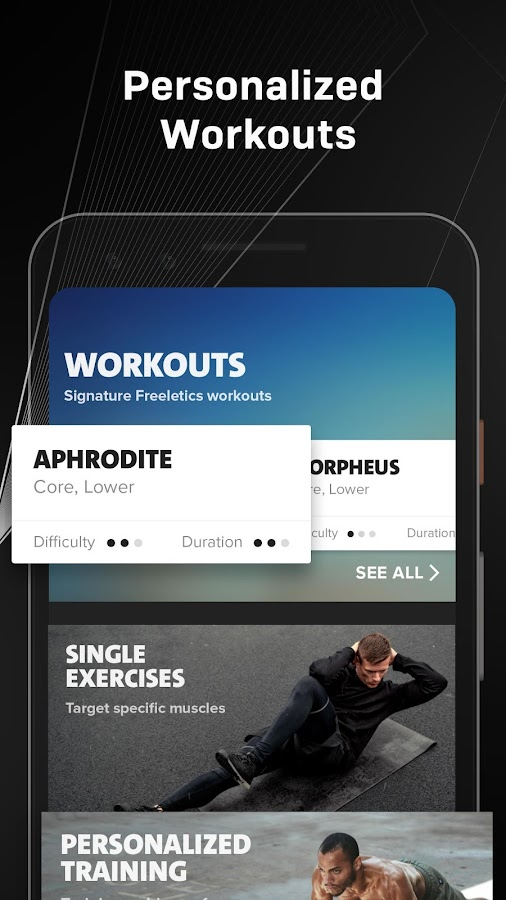 Freeletics: Workout, Fitness & Bodyweight Loss App- screenshot