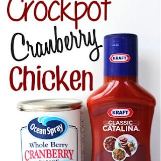 Crockpot Cranberry Chicken Recipe!
