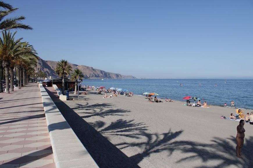 Las playas de Aguadulce, en Roquetas de Mar.