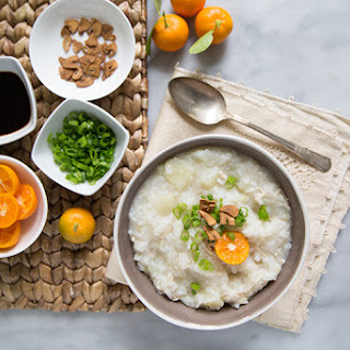 Chicken Arroz Caldo (Filipino Rice Porridge)