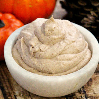 Vegan Pumpkin Spice Mousse.