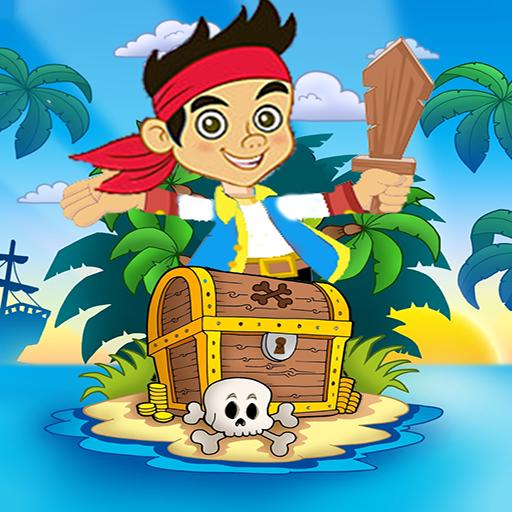 рисунок пираты на острове