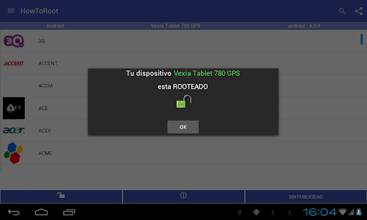 Root android todos los moviles: miniatura de captura de pantalla