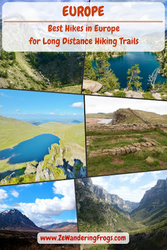 Best Hikes in Europe for Long Distance Hiking Trails // Top European Trekking Adventures